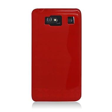 Insten Checker TPU Transparent Case For Motorola Droid Razr HD XT926 - Red