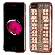 Insten Hard Bling TPU Case For Apple iPhone 7 Plus - Rose Gold
