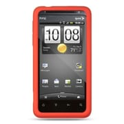 Insten Rubber Case For HTC EVO Design 4G - Red