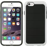 Insten Hybrid Case White Frame + TPU - Bla For Apple iPhone 6 / 6s