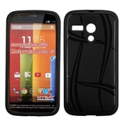 Insten Basketball Gel Matte Case For Motorola Moto G(1st Gen) - Black
