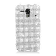 Insten Hard Diamond Cover Case For Kyocera Hydro Edge C5215 - Silver