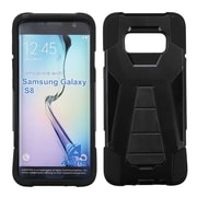 Insten For Samsung Galaxy S8 Inverse Advanced Armor Stand Hybrid Protective Case For Samsung Galaxy S8 - Black
