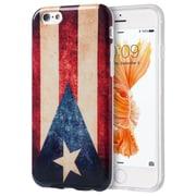 Insten Patriotic Vintage Flag Series Imd TPU Case For Apple iPhone 6s Plus / 6 Plus - Puerto Rico