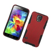 Insten Astronoot Hard Dual Layer TPU Case For Samsung Galaxy S5 - Red/Black