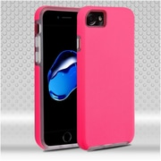 Insten Hard Hybrid TPU Cover Case For Apple iPhone 7 - Hot Pink