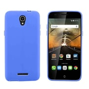 Insten Rubber Cover Case For Alcatel One Touch Elevate - Blue
