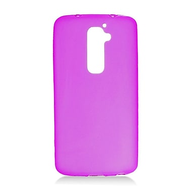 Insten Frosted Gel Case For LG G2 LS980 Sprint - Purple