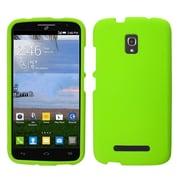 Insten Hard Rubberized Case For Alcatel One Touch Pop Mega - Green