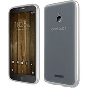 Insten For Alcatel Dawn Acquire STREAK Ideal Ultra Slim Hard Crystal Clear Transparent Fused TPU Case - Clear