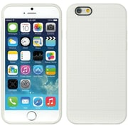 Insten TPU Dots Ultra Thin Skin Rubber Gel Shell Case For Apple iPhone 6 / 6s - White