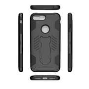 Insten For Apple iPhone 7 Plus SuperCoil Hybrid Premium Kickstand Case Shockproof Cover - Black