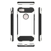 Insten For Apple iPhone 7 Q Hybrid Dual Layer Slim Armor Case Protective Cover - White/Black