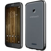 Insten For Alcatel Dawn Acquire STREAK Ideal Ultra Slim Hard Crystal Clear Transparent Fused TPU Case - Black