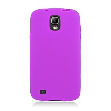 Insten Rubber Case For Samsung Galaxy S4 Active - Purple