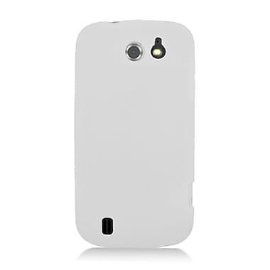 Insten Soft Rubber Case For ZTE Flash - White