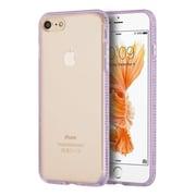 Insten Rubber Case w/Diamond For Apple iPhone 7 - Purple