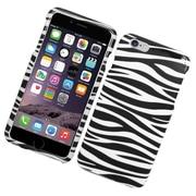 Insten Zebra Hard Case For Apple iPhone 6s Plus / 6 Plus - Black/White