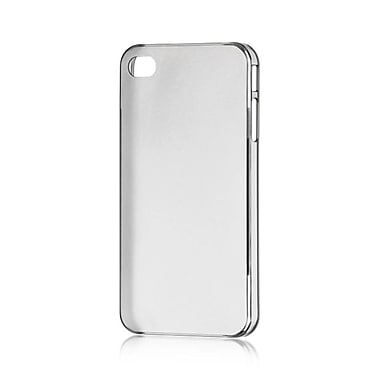 Insten Compatible Ultra Thin Tinted TPU Rubber Skin Gel Case For Apple iPhone 4 / 4S - Smoke
