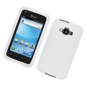 Insten Rubber Cover Case For Samsung Rugby Smart - White