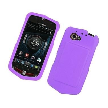 Insten Rubberized Hard Snap-in Case Cover for GzOne Commando 4G LTE C811 - Purple