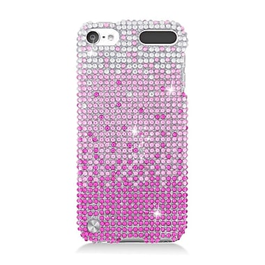 Insten Waterfall Hard Diamond Case For Apple iPod Touch 5th Gen - Pink/Silver