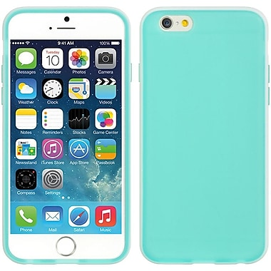 Insten Crystal Skin Tinted TPU Rubber Gel Case For Apple iPhone 6 / 6s - Green