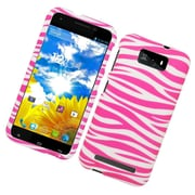 Insten Zebra Hard Case Cover For BLU Studio 5.5 - Pink/White