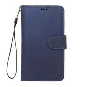 "Insten Universal PU Leather Case w/Card Slot Compatible With 5"" Phone, Dark Blue"