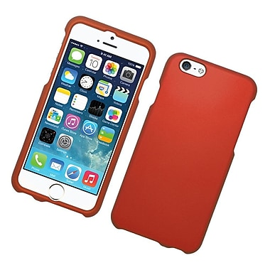 Insten Hard Rubber Coated Case For Apple iPhone 6/6s - Red