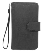 "Insten Universal PU Leather Case w/Card Slot Compatible With 4.5"" Phone, Black"