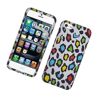 Insten Leopard Hard Case For Apple iPhone 5S 5 SE - Multi-Color