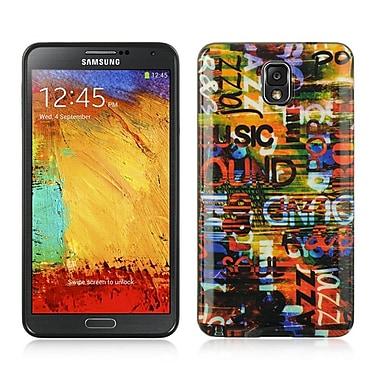 Insten Urban Graffiti TPU IMD Rubber Skin Gel Back Shell Case For Samsung Galaxy Note 3 - Colorful