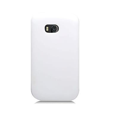 Insten Silicone Rubber Cover Case For Nokia Lumia 822 - White