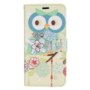 Insten Flowers Owl PU Leather Image Pouch Flip Wallet Credit Card Stand Case For Samsung Galaxy S8+ S8 Plus