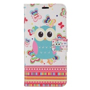 Insten Butterflies Owl PU Leather Image Pouch Flip Wallet Credit Card Stand Case For Samsung Galaxy S8+ S8 Plus