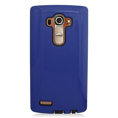 Insten Hard Dual Layer Silicone Case For LG G4 - Blue