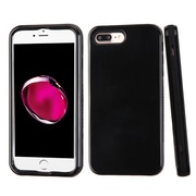 Insten Verge Hard Hybrid Rubber Silicone Case For Apple iPhone 7 Plus - Black