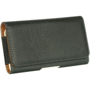 "Insten Belt Clip Horizontal Pouch Leather Protective Case For Samsung Galaxy Mega 6.3"" GT-I9200 - Black"