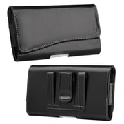 "Insten Horizontal Pouch Belt Clip Leather Cover Shockproof Case For Samsung Galaxy Mega 6.3"" GT-I9200 - Black"