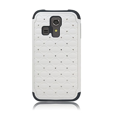 Insten Hard Dual Layer Hybrid Case For Kyocera Hydro Icon 6730/Hydro Life 6530 - White/Black