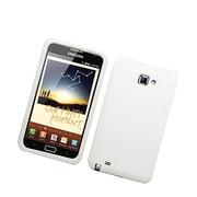 Insten Soft Rubber Cover Case For Samsung Galaxy Note LTE - White