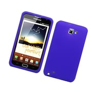 Insten Rubber Cover Case For Samsung Galaxy Note LTE - Purple