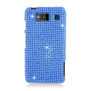 Insten Hard Diamante Case For Motorola Droid Razr Maxx HD - Light Blue