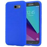 Insten Rugged Silicone Soft Skin Gel Back Cover Case For Samsung Galaxy J3 (2017) - Blue
