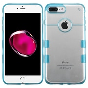 Insten Hard Crystal TPU Case For Apple iPhone 7 Plus - Clear/Blue