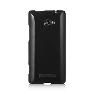 Insten TPU Case For HTC Windows Phone 8X - Black