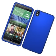 Insten Hard Rubber Coated Cover Case For HTC Desire 816 - Blue