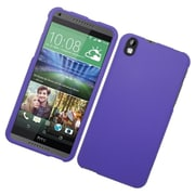 Insten Hard Rubberized Case For HTC Desire 816 - Purple