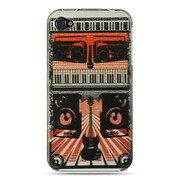 Insten Hard Crystal Skin Back Protective Shell Cover Case For Apple iPhone 4 / 4S - Rock Out